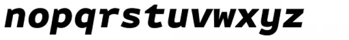 FF Attribute Mono Black Italic Font LOWERCASE