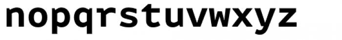 FF Attribute Mono Bold Font LOWERCASE