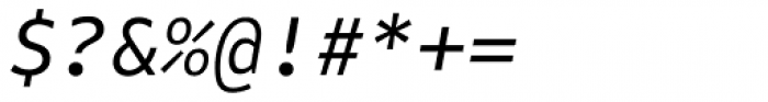 FF Attribute Mono Italic Font OTHER CHARS