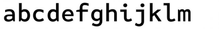 FF Attribute Mono Medium Font LOWERCASE