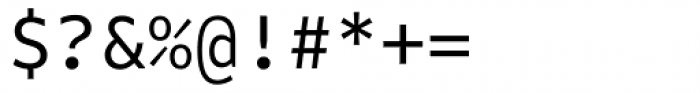 FF Attribute Mono Regular Font OTHER CHARS