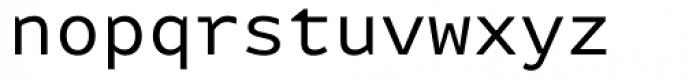 FF Attribute Mono Regular Font LOWERCASE
