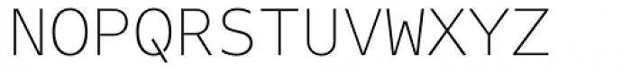 FF Attribute Mono Thin Font UPPERCASE