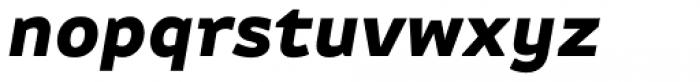 FF Attribute Text Black Italic Font LOWERCASE
