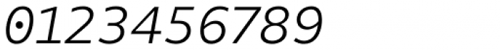 FF Attribute Text Light Italic Font OTHER CHARS