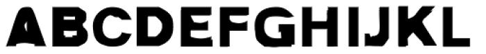 FF Autotrace Double OT Font UPPERCASE