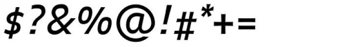 FF Balance OT Italic Font OTHER CHARS
