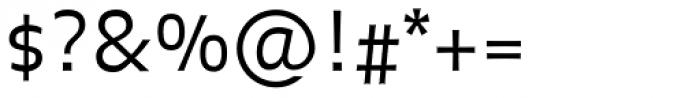 FF Balance OT Light Font OTHER CHARS