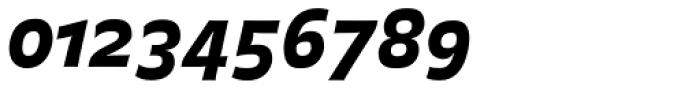 FF Balance Pro Black Italic Font OTHER CHARS