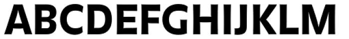 FF Balance Pro Black Font UPPERCASE