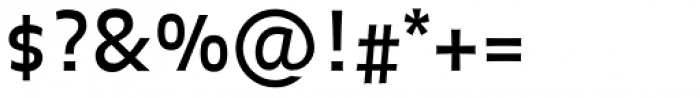 FF Balance Pro Font OTHER CHARS