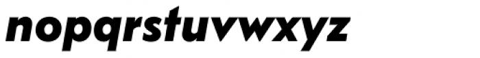 FF Bauer Grotesk OT Bold Italic Font LOWERCASE