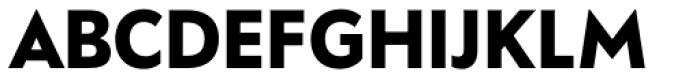 FF Bauer Grotesk OT Bold Font UPPERCASE