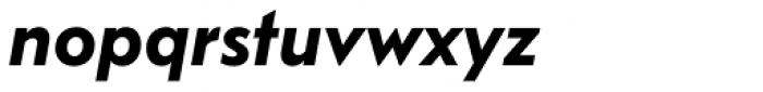 FF Bauer Grotesk OT DemiBold Italic Font LOWERCASE