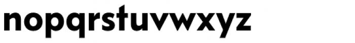 FF Bauer Grotesk OT DemiBold Font LOWERCASE