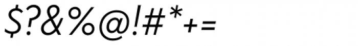 FF Bauer Grotesk OT Italic Font OTHER CHARS