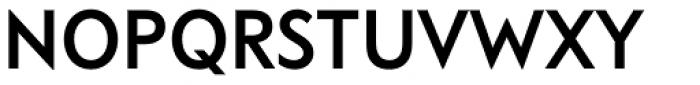 FF Bauer Grotesk OT Medium Font UPPERCASE