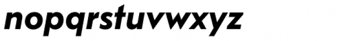FF Bauer Grotesk Pro DemiBold Italic Font LOWERCASE
