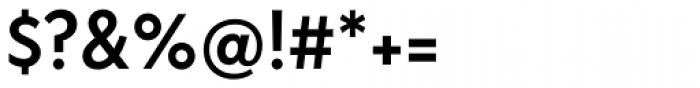 FF Bauer Grotesk Pro Medium Font OTHER CHARS
