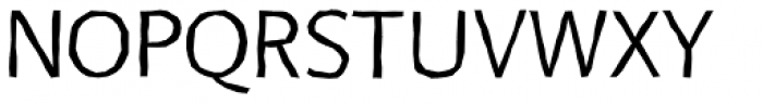 FF Beo Sans OT Hard R21 Font UPPERCASE
