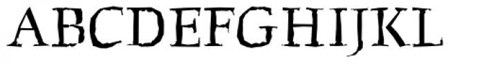 FF Beowolf OT R22 Font UPPERCASE