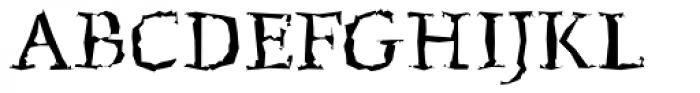 FF Beowolf OT R23 Font UPPERCASE
