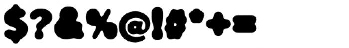 FF Blur OT Bold Font OTHER CHARS