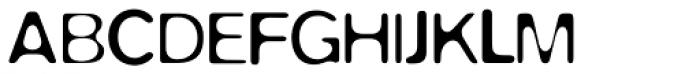 FF Blur OT Light Font UPPERCASE