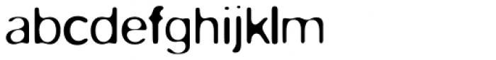FF Blur OT Light Font LOWERCASE
