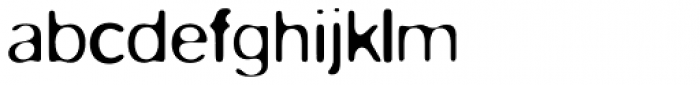 FF Blur Pro Light Font LOWERCASE
