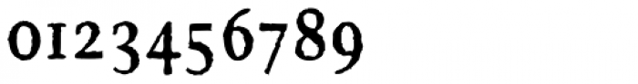 FF Brokenscript Rough OT Condensed Bold Font OTHER CHARS