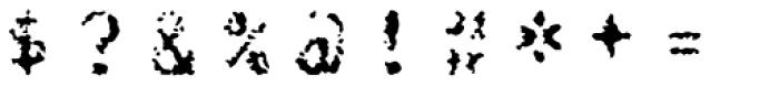 FF Burokrat Three OT Font OTHER CHARS