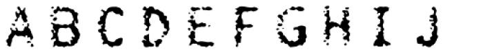 FF Burokrat Three OT Font LOWERCASE