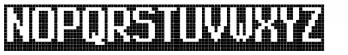 FF Call Five LNegative OT Font UPPERCASE