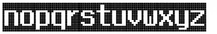 FF Call Five LNegative OT Font LOWERCASE