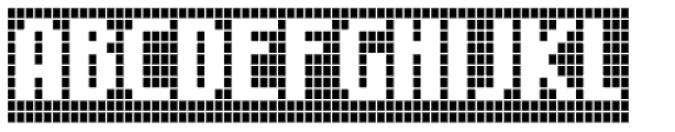 FF Call Five SNegative OT Font UPPERCASE