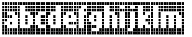 FF Call Five SNegative OT Font LOWERCASE