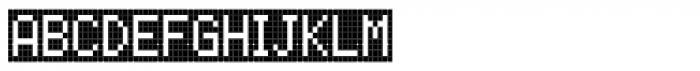 FF Call Four SNegative OT Font UPPERCASE