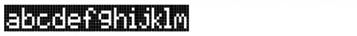 FF Call Four SNegative OT Font LOWERCASE