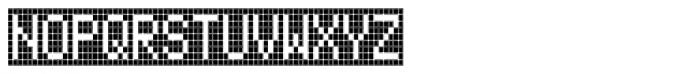 FF Call Nine SNegative OT Font UPPERCASE