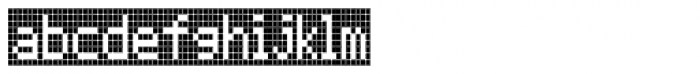 FF Call Nine SNegative OT Font LOWERCASE