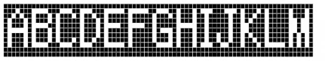 FF Call Six Negative OT Font UPPERCASE
