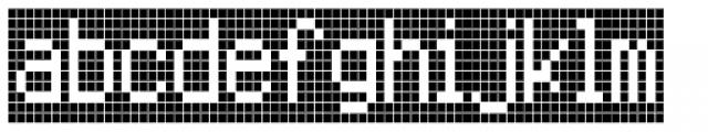 FF Call Six Negative OT Font LOWERCASE