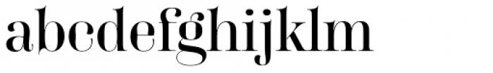 FF Carina Font LOWERCASE