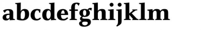 FF Celeste OT ExtraBold Font LOWERCASE
