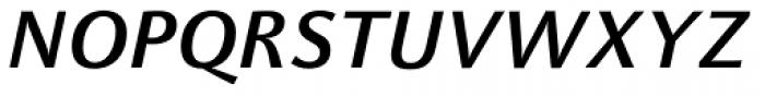 FF Celeste Sans OT Bold Italic Font UPPERCASE