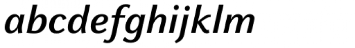 FF Celeste Sans OT Bold Italic Font LOWERCASE