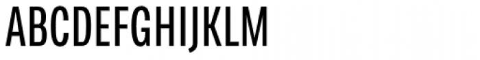 FF Chartwell Bars Vertical Font UPPERCASE