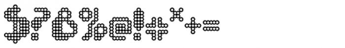 FF Chemo Bubble Dot OT Font OTHER CHARS
