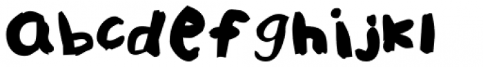 FF Childs Play Age Nine Pro Regular Font LOWERCASE